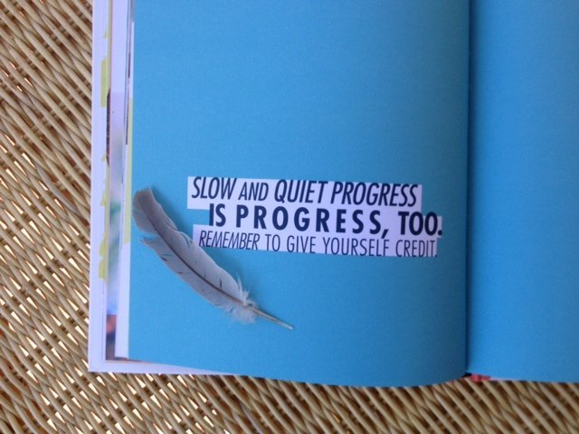 Slow and Quiet Progress IS Progress, Too…