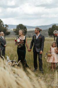 Wedding Coach, Caitlin Bosshart at her own wedding